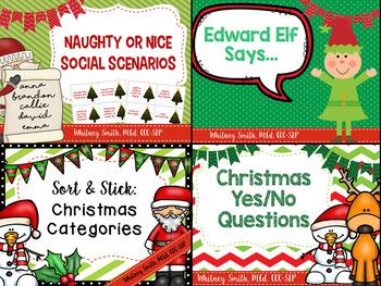 Christmas Language Activities Bundle
