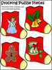 Christmas Activities: Christmas Stocking Letters & Words P