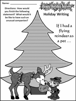 Christmas Language Arts Activities: Christmas Writing Projects Activity Packet