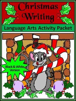 Christmas Language Arts Activities: Christmas Writing Proj