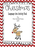 Christmas Language Arts Activity Pack