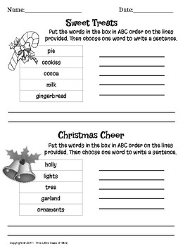 Christmas Language Arts Bundle