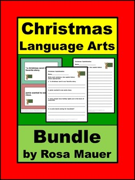 Christmas Language Arts Bundle