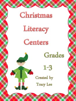 Christmas Language Arts Centers