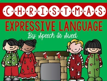 Christmas Language Bundle for Speech Therapy