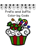 Christmas Prefix and Suffix Color by Code