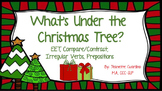 Christmas Describing Christmas Vocabulary, Compare/Contrast, Verbs, Prepositions