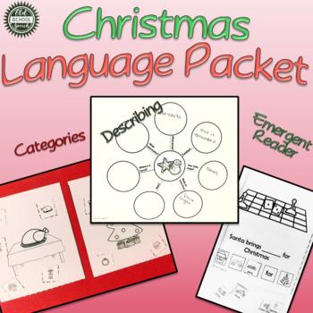 Christmas Language Print & Go