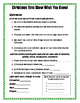 Christmas Language Review for 2nd Grade edition 2