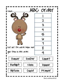 Christmas Language Skills Packet
