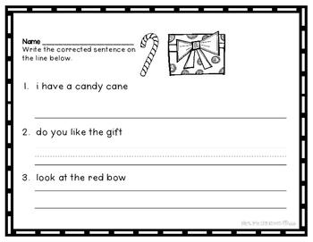 Christmas Language Sort and Printables
