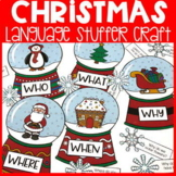 Christmas Language Stuffer Craft | Christmas Speech Therapy