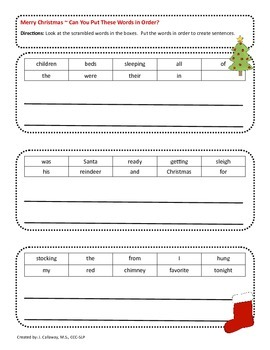 Christmas ~ Language Super Packet!