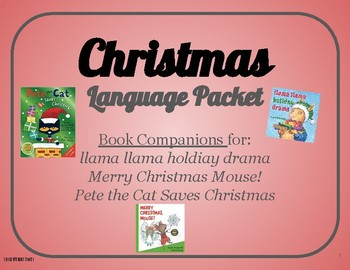Christmas Language and Book Companion Packet