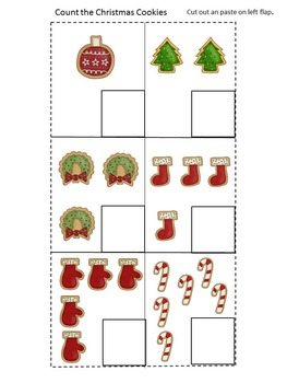 Christmas Lapbook Interactive, Preschool, Kindergarten, Special Education