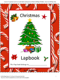 Christmas Activities, Christmas Cut and Paste, Interactive Notebook,Special Ed