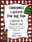 Christmas Lapbook Unit For Big Kids {Common Core}