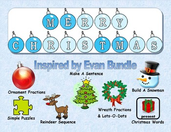 Christmas Learning Bundle for Autism