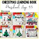 Christmas Learning Busy Book Binder Preschool Age 4-5 - Personalised