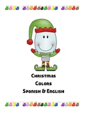 Christmas - Learning Colors in Spanish and English