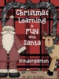 Kindergarten / First Grade - Christmas Reading and Math
