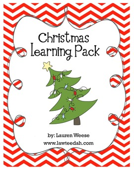 Christmas Learning Pack