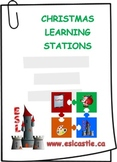 ESL: Christmas Learning Stations