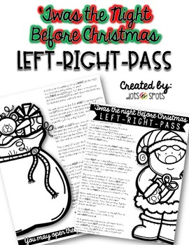 Christmas Left-Right-Pass