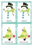 Christmas Matching Game {pre-k, k}