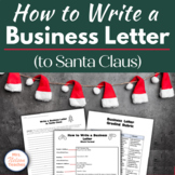 Christmas Lesson - How to Write a Business Letter to Santa Claus
