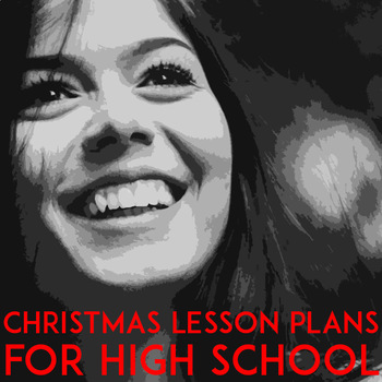 Christmas Lesson Plans: Christmas Activities for High School Students |  ELA