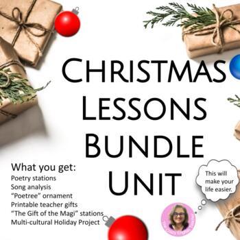 Christmas Lesson Unit Bundle