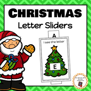 Christmas Letter/Alphabet Sliders