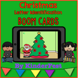 Christmas Letter Identification Boom Cards