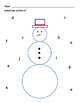 Christmas Letter Identification - Letter Matching Activities