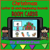 Christmas Letter Identification and Beginning Sounds - Boom Cards