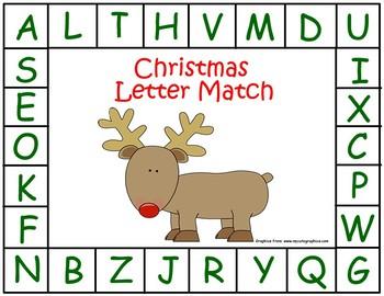 Christmas Letter Match