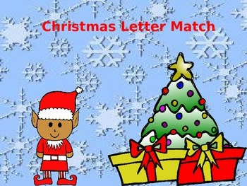Christmas Letter Match