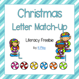 Christmas Letter Match-Up Freebie