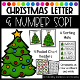 Christmas Letter Number Sort