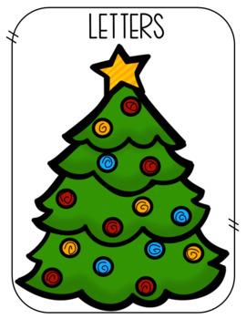 Christmas Letter Number Sort