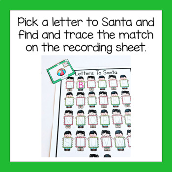Christmas Letter Recognition Activity