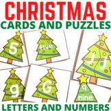 Christmas Letter Recognition Centers and Games