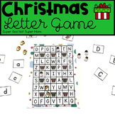 Christmas Letter Recognition Game