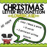 Christmas Letter Recognition (LOWERCASE)