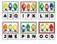 Christmas Letter Sequencing Clip Cards