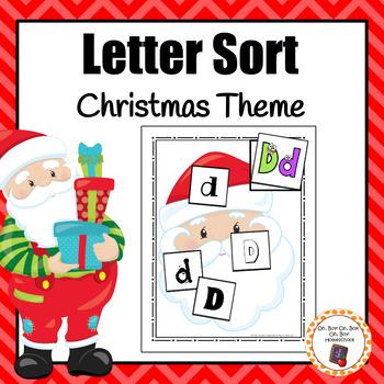 Christmas Letter Sort