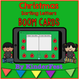 Christmas Letter Sorting - Boom Cards