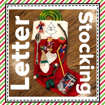 Christmas Letter Stocking Activity: Note to Parents FREEBIE