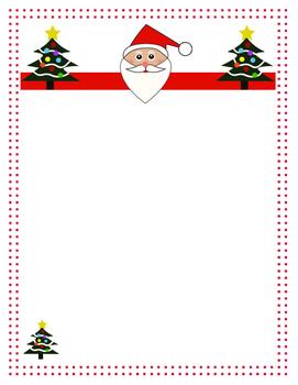 Christmas Letter Template Free from ecdn.teacherspayteachers.com